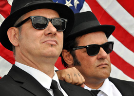 The Blues Brothers - tanzend